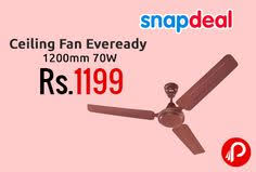 ceiling fan size in inches snapdeal is offering orpat 48 inches air legend ceiling fan ivory at