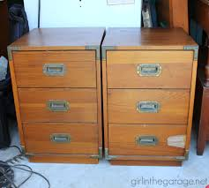 Navigate To Pottery Barn Pb Inspired Trunk Bedside Table Makeover In The Garage