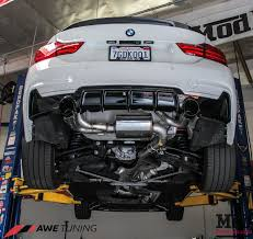 nissan 370z quad exhaust gorgeous f32 bmw 435i gets awe tuning exhaust installed modauto