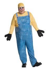 Size Men Halloween Costumes Minion Bob Size Costume