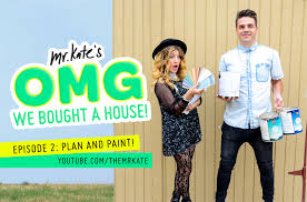 paint the house mr kate omg we bought a house episode 2 plan and paint