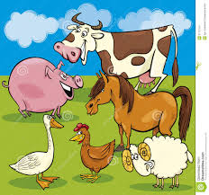 group of farm animals clipart clipartsgram com