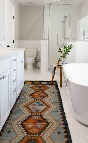 Vintage Bathroom Rugs Southwestern Bathroom Rugs With Transitional Bathroom Also