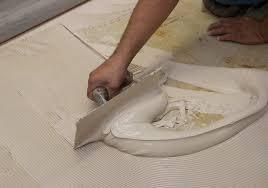 glue solid flooring