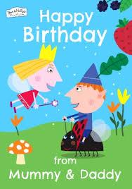ben u0026 holly birthday card happy birthday funky pigeon