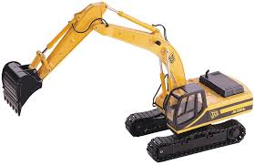 dhs diecast scale excavators models by norscot tonkin conrad