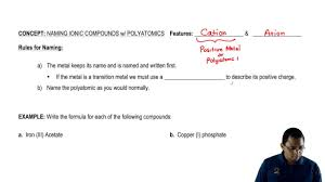 naming compounds chemistry video clutch prep