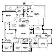 one level home plans home plans homepw15087 3 297 square 5 bedroom 3 bathroom