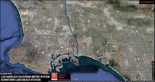 Google Maps Los Angeles Plan Metro Subway Around The World Metro Metro Map Plan Metro