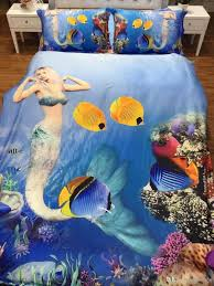 Sexy Bed Set by Luxury Digital Printing Sexy Mermaid 100 Egyptian Cotton Queen