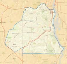 Beaverton Oregon Map by Service Area