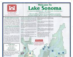 Sonoma California Map Camping U0026 Directions