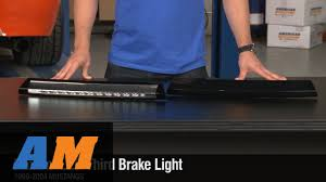 mustang third brake light restore mustang raxiom chrome or smoked led third brake light 99 04 all