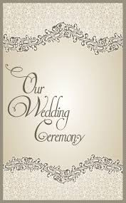 wedding program cover wedding ideas 16 extraordinary what information goes on a wedding