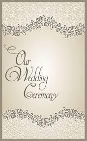 wedding program cover wedding ideas 16 extraordinary what information goes on a wedding