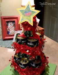 beer u0026 pop can christmas tree gift joyful daisy