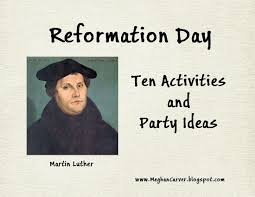 Christian Halloween Party Ideas Lawyer Mom Reformation Day Ten Activities And Party Ideas