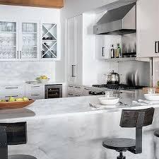 Modern Kitchen Island Stools - kitchen peninsula with t back stools design ideas