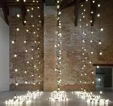 hanging ceiling decorations exles of decor using christmas string lights indoor banquet