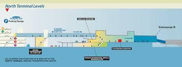 detroit metro airport map terminal parking detroitmetrolimo com