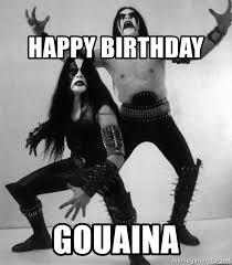 Black Metal Meme Generator - happy birthday gouaina black metal guys meme generator
