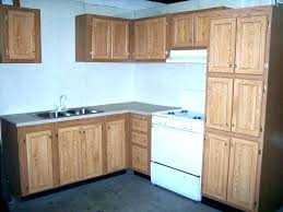 how to paint mobile home cabinets can you paint mobile home kitchen cabinets particle board
