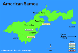 map samoa map of samoa and american samoa major tourist
