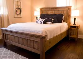 magnificent farmhouse bed frame and farmhouse bed rustic furniture