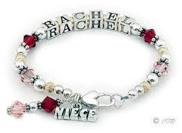 Name Braclets Name Bracelet Stunning Single Strand Name Bracelets