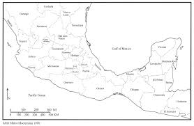 Teotihuacan Map Prehispanic Civilizations Of Middle America