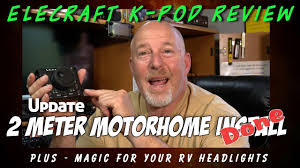 Radio Antennas For Rvs Elecraft K Pod Review 2 Meter Radio Rv Installation K6uda Radio