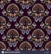 abstract geometric seamless paisley pattern traditional oriental
