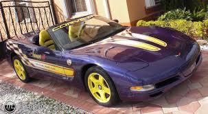 1998 corvette pace car for sale 1998 chevrolet corvette pace car id 15569