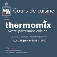 cours de cuisine thermomix cours de cuisine avec carl gillain thermomix wine more