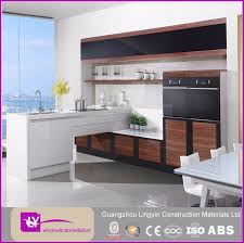 Mdf Kitchen Cabinet Designs - marble top modular cheap mdf kitchen cabinet design in grey buy