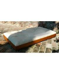 futon per bambini woodly letto basso puro maxi naturale 90 x 200 cm made in