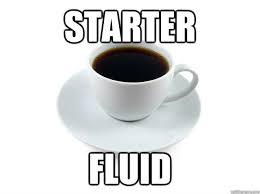 Coffee Cup Meme - starter fluid scumbag coffee cup quickmeme