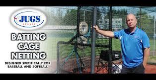 jugs batting cage netting youtube