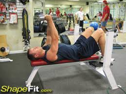 Flat Bench Db Fly Flat Bench Dumbbell Flyes Chest Exercise Guide With Photos