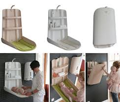 Wall Changing Tables For Babies Baby Furniture From Bybo Space Saving Wall Mounted Baby Changing