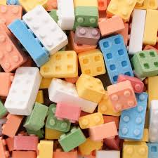 edible legos candy blocks are like edible lego bricks technabob