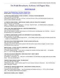 tri fold brochure size edit fill out print u0026 download online