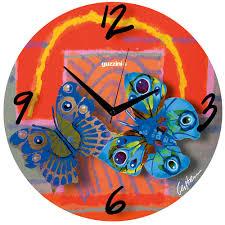 Horloge Murale Rouge by Volare Horloge Murale Rouge David Gerstein Guzzini