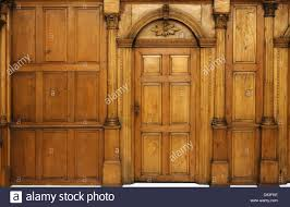 Wood Paneling Walls by Wooden Paneled Wall And An Arched Door Victorian Architecture