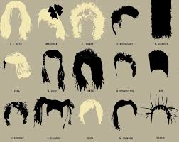 best hairstyles with their names infographic 108 haircut styles of some of the best music artists in