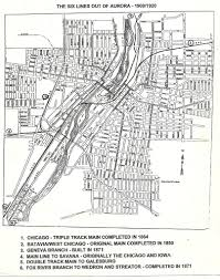 Chicago Railroad Map by Railroad History Map Of Aurora Illinois 1920 Terry Spirek Flickr