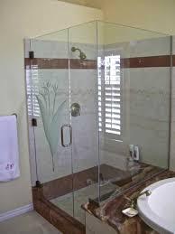 Etched Bathroom Mirror by Foliage Designs Sans Soucie Art Glass