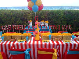 carnival themed party ideas for children s party search sawyers 1st