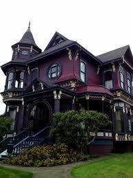 gothic victorian house gothic victorian house with deep purple wall color elegant and