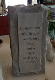 weekending memorial stones benches u0026 chimesdelivery available